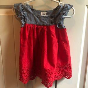 Baby Gap Eyelet Flutter Dress